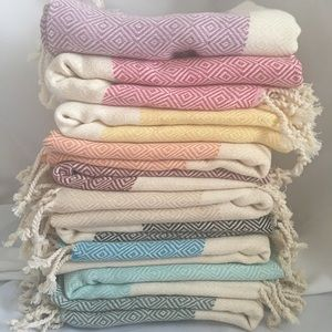 Bath Beach Gym Travel Towels Turkish New 36x69